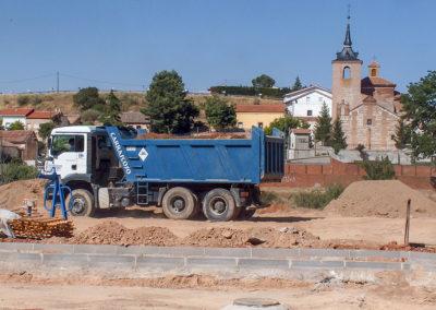 Camión 3 ejes transporte de arena