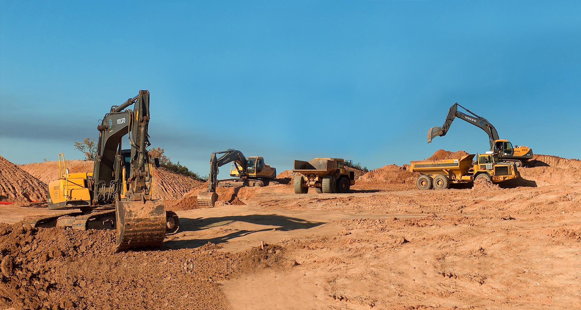 Excavaciones y movimiento de tierra